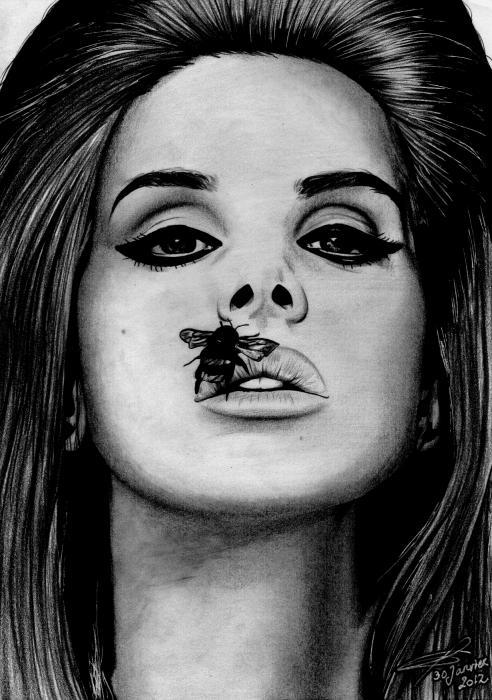 Lana Del Rey por greg-drawings